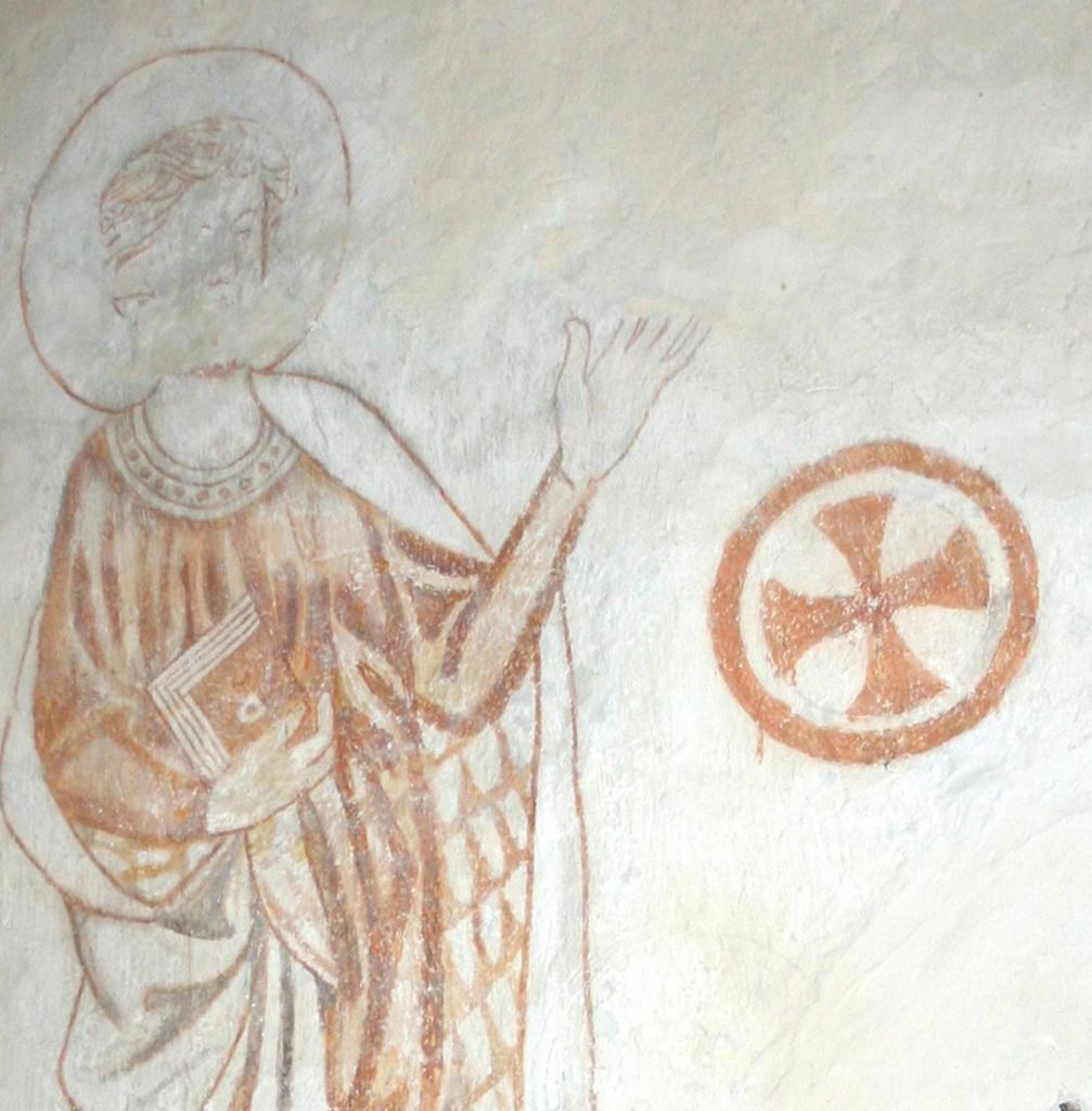 Lemland anonym apostel, kalkmaln