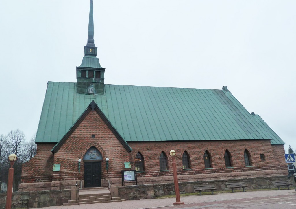 Mariehamn Church Kyrkor Ax